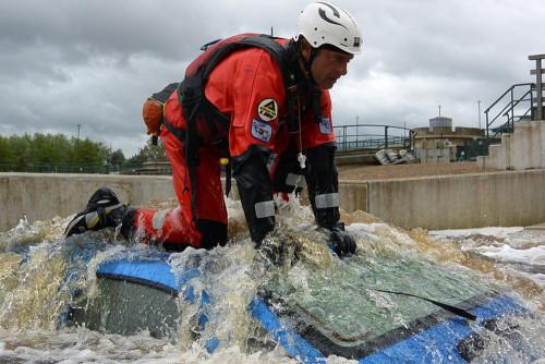 BREVETTO Rescue3™ – RVW – CAR RESCUE – Soccorso ad autoveicoli in un canale / fiume.
