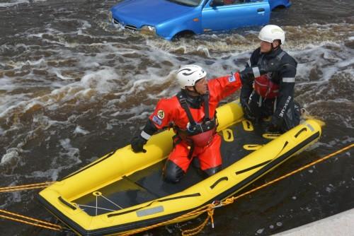 BREVETTO Rescue3™ - SPBH - Soccorso con raft - Modulo avanzato