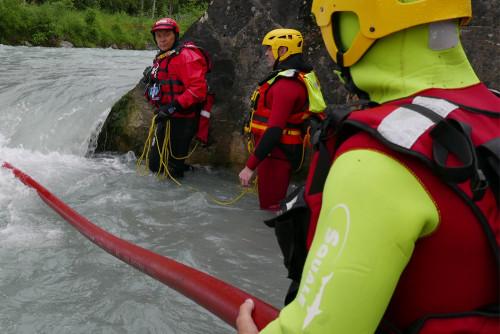 Alta specializzazione - Soccorso da ponti e manichetta antincendio